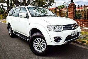 2014 Mitsubishi Challenger PC (KH) MY14 White 5 Speed Sports Automatic Wagon Medindie Walkerville Area Preview