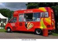 Ice cream van driver / Ice cream seller