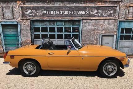 COLLECTABLE CLASSIC CARS - 1970 MGB - Overdrive Strathalbyn Alexandrina Area Preview