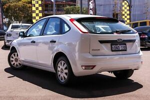 2010 Ford Focus LV CL White 4 Speed Sports Automatic Hatchback Northbridge Perth City Area Preview