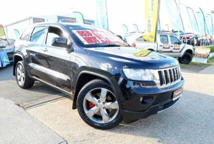 2012 Jeep Grand Cherokee WK MY2012 Limited Black 6 Speed Sports Automatic Wagon