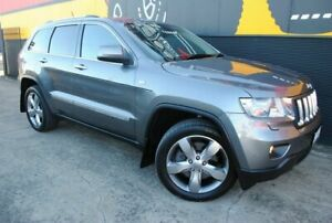 2012 Jeep Grand Cherokee WK MY2012 Overland Mineral Grey 5 Speed Sports Automatic Wagon Melrose Park Mitcham Area Preview