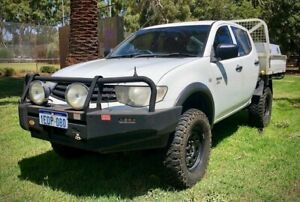 2009 Mitsubishi Triton GLX 2.5DT 4x4 Dual Cab Manual Ute $12 999 With 15 Months Warranty Leederville Vincent Area Preview