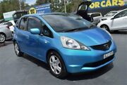 2009 Honda Jazz GE MY09 GLi Blue Manual Hatchback Campbelltown Campbelltown Area Preview