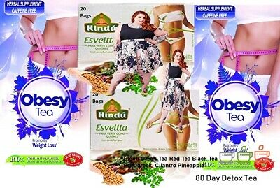 80 Day Detox Tea for Teatox Weight Loss to get Skinny Fit by  detox tea the