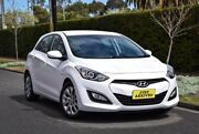2016 Hyundai i30 GD4 Series II MY17 Active White 6 Speed Sports Automatic Hatchback Medindie Walkerville Area Preview