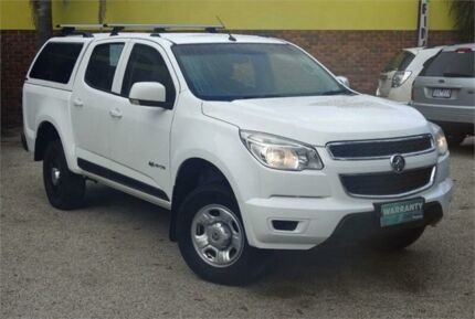 2013 Holden Colorado RG LX (4x2) White 6 Speed Automatic Crew Cab Pickup Upper Ferntree Gully Knox Area Preview