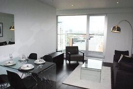 LUXURY 2 BED 2 BATH- BALTIMORE WHARF E14- 11TH FLOOR- GYM SWIMMING POOL & CONCIERGE-CROSSHARBOUR- KP