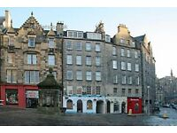 Stunning, one bedroom luxury flat nestled in the heart of Edinburgh's historic Old Town.