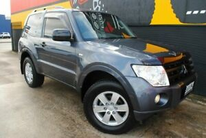 2007 Mitsubishi Pajero NS R Graphite Grey 5 Speed Sports Automatic Hardtop Melrose Park Mitcham Area Preview