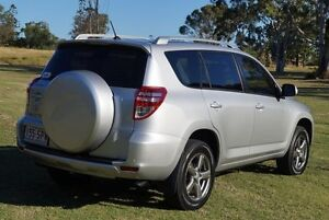 2012 Toyota RAV4 ACA38R MY12 Altitude 4x2 Silver 4 Speed Automatic Wagon Bundaberg West Bundaberg City Preview