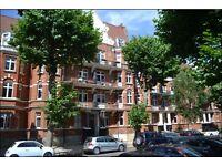 Maida Vale. Very spacious 3 bedroom 2 bathroom top floor apartment with a fantastic view.