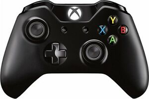 Black xbox one controller