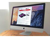 """Apple Imac 27"""", i7 Quad CoreMicrosoft Office, Words, Excel, Logic, Final, Cut Pro etc"""
