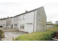 3 Bedroom REFURBISHED SEMI DETACHED VILLA in Ashamrk Avenue New Cumnock - Available Now