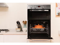 Built In Double Electric Oven from Indesit in excellent condition, 8 months old