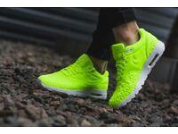 Nike Womens Air Max 1 Ultra Plush Running Trainers 844882 700 UK 5.5 EUR 39 NEW
