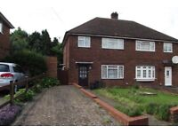 Spacious 3/4 Bedroom Semi-Detached House With Parking + Garden
