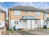 Newly refurbished 3 bedroom semi detached-house with private parking and garden in Isleworth