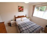Lovely wooden double bed for sale