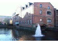 Riverside 2 Bedroom Fully Furnished Flat with secure underground parking.