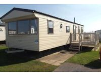 Luxury 8 Berth Caravan to Hire Golden Gate, Towyn, North Wales
