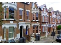 SW9 CLAPHAM COMMON NORTH TUBE ONE BEDROOM TOP FLOOR PERIOD CONVERSION READY SOON ONLY £285 PW