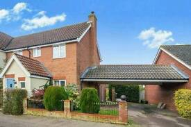 Available now. Spacious 3 bed Semi-Detached house with large extention and garage with appliance.