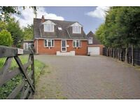 Equestrian Property Detached 4/5 bed house Annex. Double garage. Stables. Riding Arena.