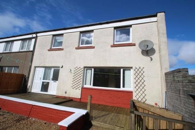 3 Bedroom End Terrace To Let Long Term Cumbernauld