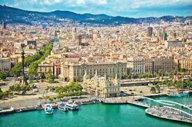 5 return flight tickets London - Barcelona 26.OCT - 29.OCT