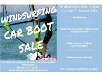 Newtownards sailing club windsurf carboot sale