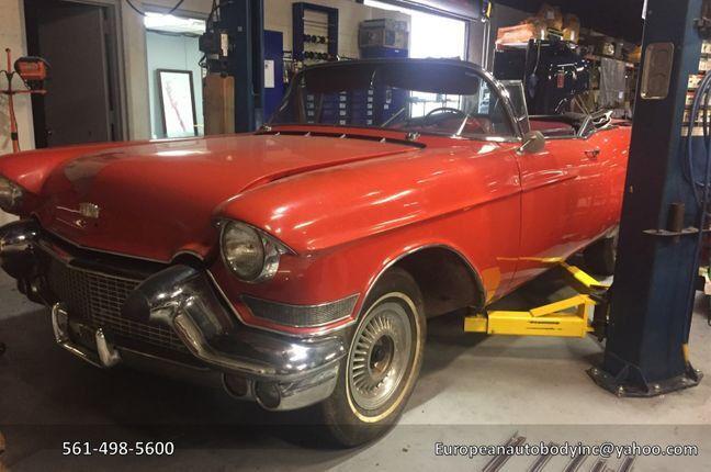 1957 Cadillac Eldorado  1957 Cadillac Eldorado Convertible Biarritz