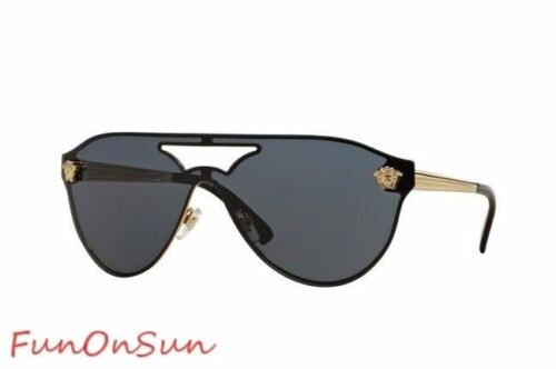 Versace Medusa Women's Sunglasses VE2161 100287 Gold/Grey Le