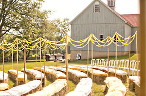 Gorgeous golden straw bales for your wedding / special event! Cambridge Kitchener Area image 10