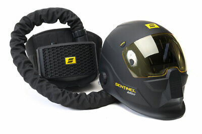 Esab Sentinel Airfed Welding Shield Helmet Cw Papr Backpack