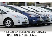PCO CARS HIRE RENT TOYOTA PRIUS £ 95 PER WEEK