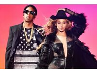 2 BEYONCE AND JAY Z TICKETS FOR LONDON, 15TH JUNE 2018