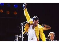 Queen Tribute - Freddie Mercury wanted