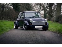 Classic Mini T4 2L Turbo Volvo engined Z Car with super car performance.