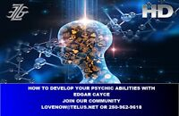 DISCOVER YOUR PSYCHIC ABILITIES WITH EDGAR CAYCE
