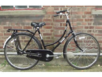 Ladies Vintage dutch bike from Amsterdam , frame size 21 ready to go VERY GOOD CONDITION