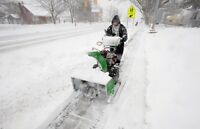Quality Snow Removal Services - Kitchener Waterloo Area