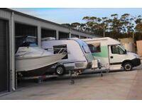 caravan and boat storage secure yard electric gates an cctv