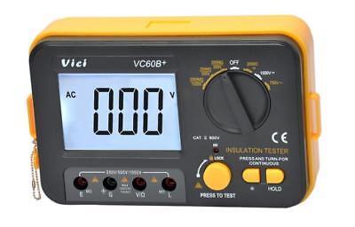 Vichy Vc60b Digital Insulation Resistance Tester Megger Megohmmeter Meter