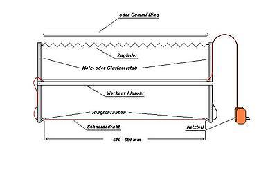Styro-Kit 500 Styroporschneider-Bausatz BauSet StyroCut Heißdrahtschneider......