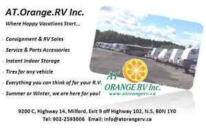 Who moves your towables across the Maritimes? AT ORANGE RV Inc.