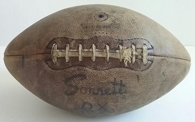 Sonnett Official NFL Leather Football Original Laces Model DX Vintage 1950