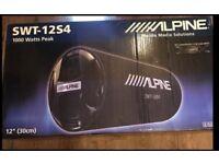 Alpine SWT-12S4 subwoofer