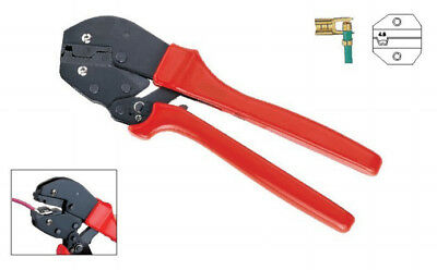 Terminal Crimper For Non-insulated Flag Type Terminal